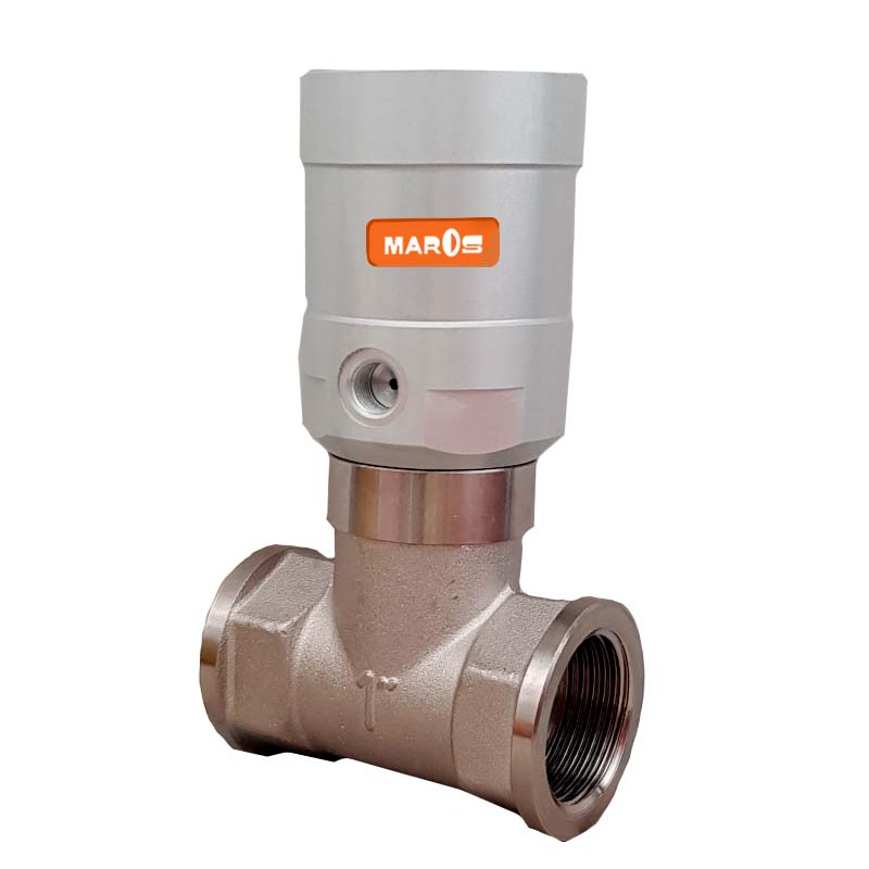 fluxa DC valve by maros engineering