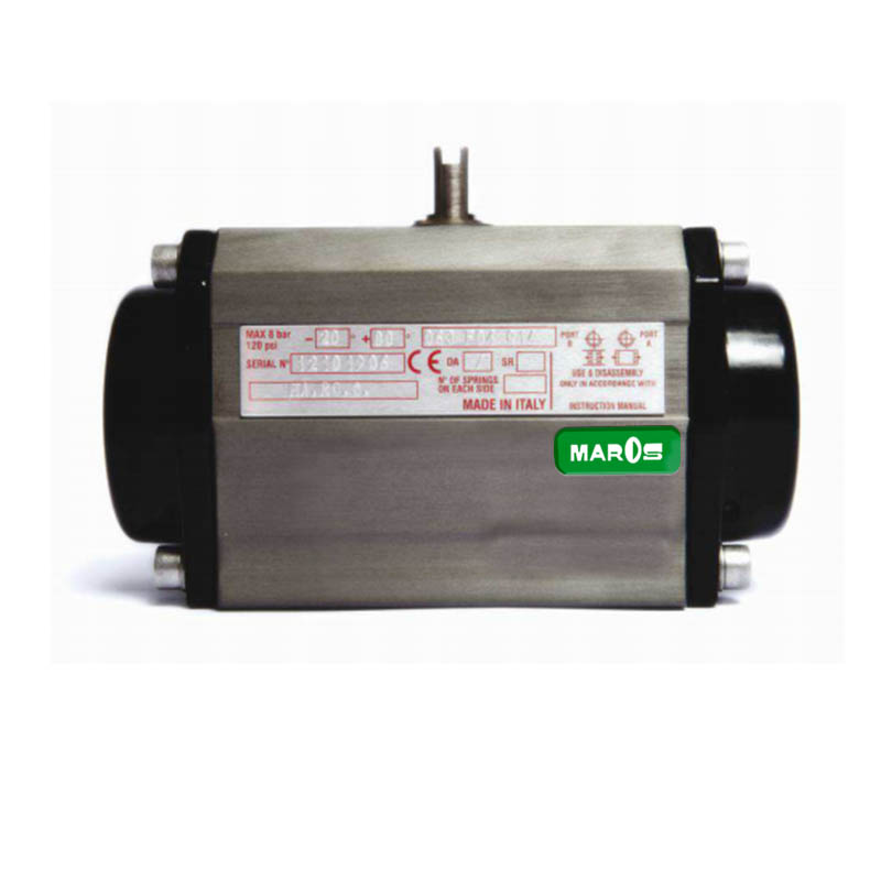 mosfe actuator for butterfly valves