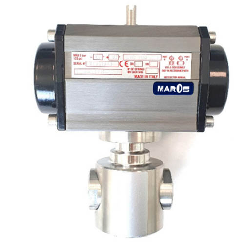 two way ball valve for high pressure