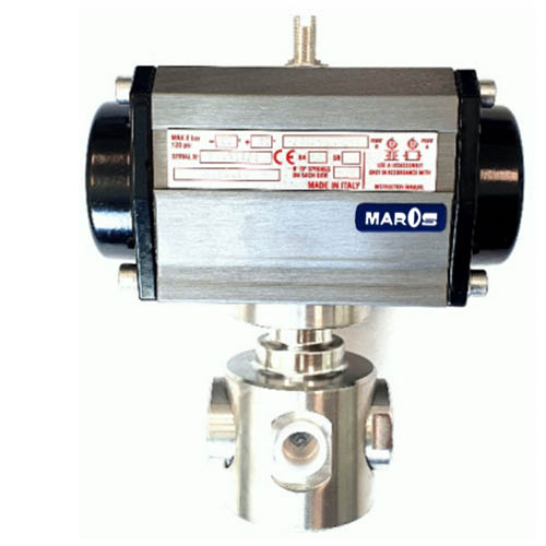 three way ball valve for high pressure