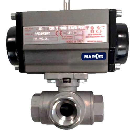 three way ball valve microcast by maros engineering