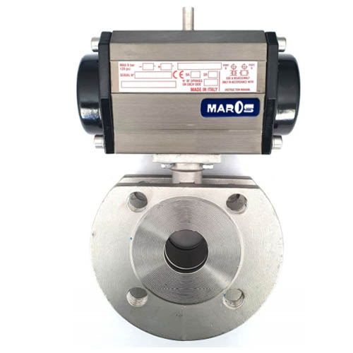 two way ball valve wafer
